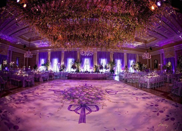 Lavender Wedding Reception Brand Bash