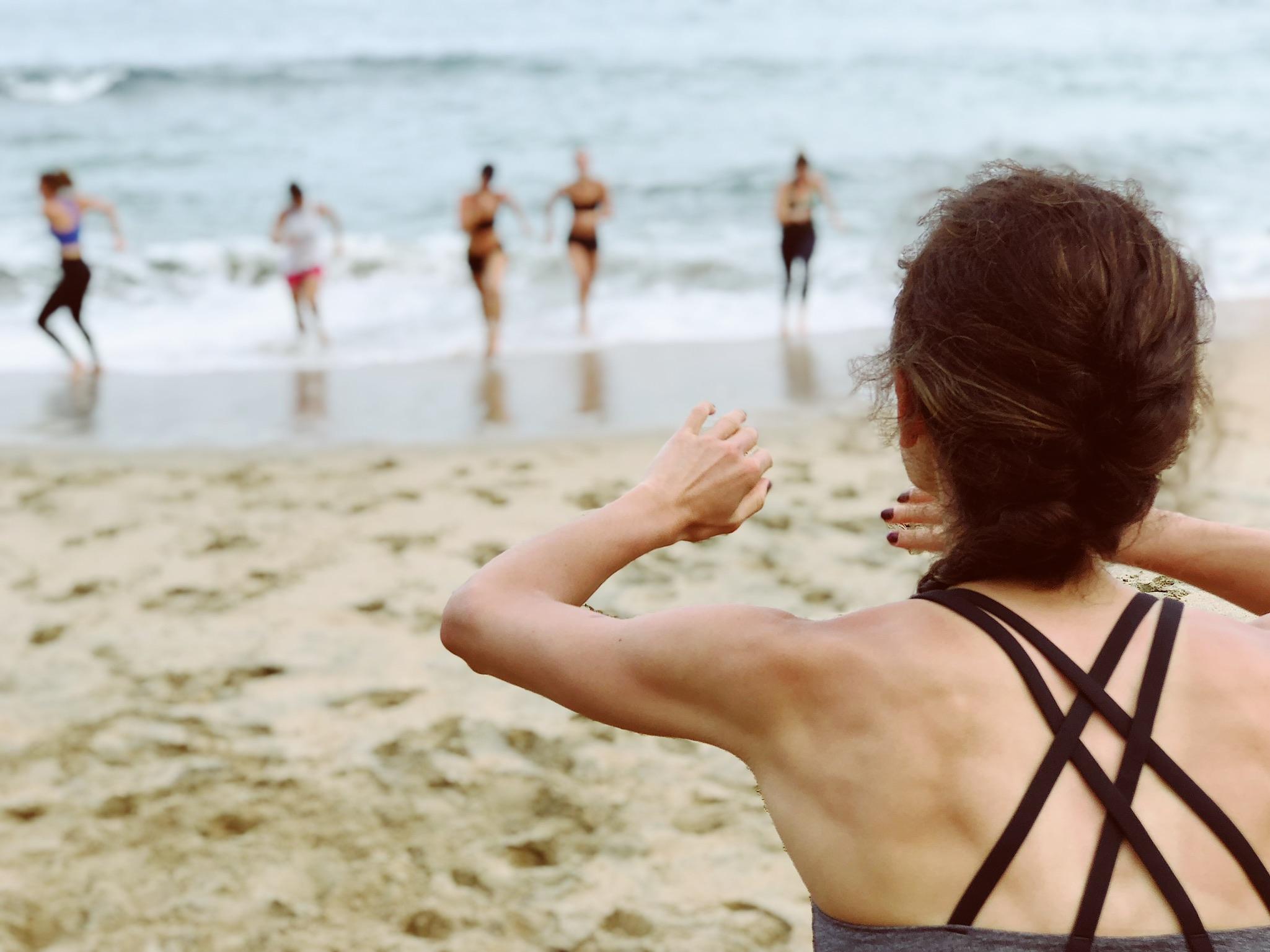Beach Body Bootcamp in Sayulita Mexico