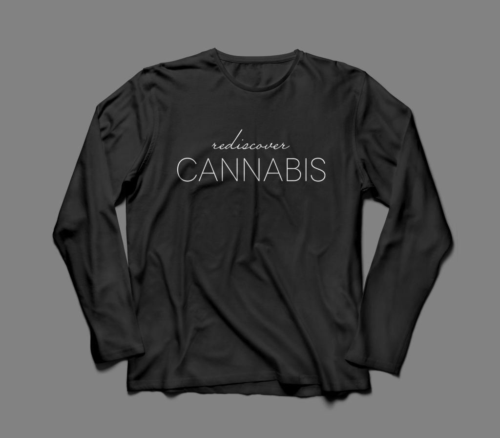 Rediscover Cannabis Branding created by Brand + Bash